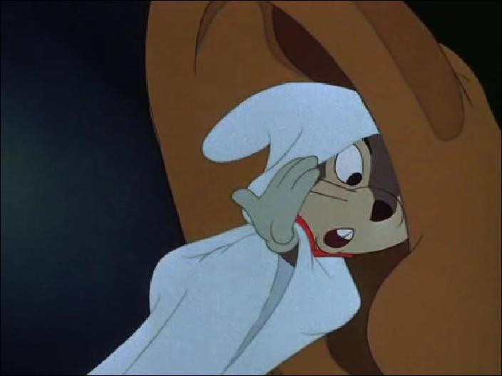 Quand cette malicieuse souris souffle-t-elle l'idée à Mr Loyal d'ajouter Dumbo dans le spectacle ?
