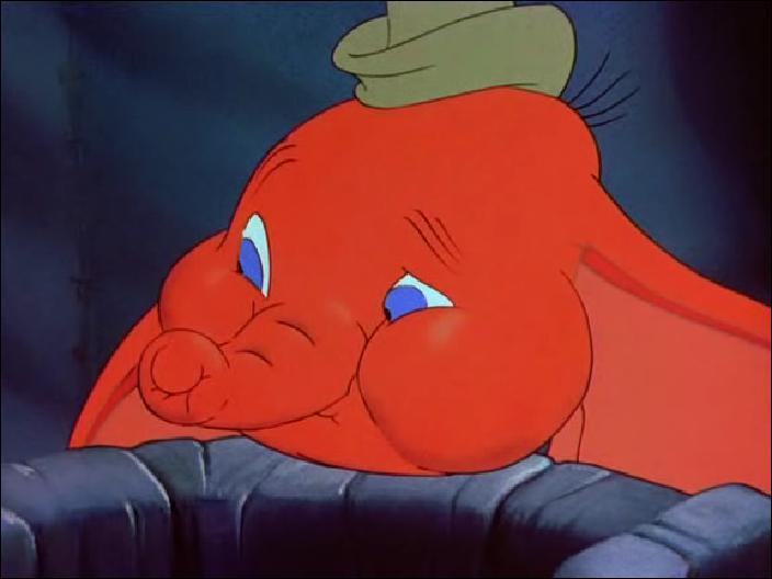 Après avoir bu l'eau du seau, Dumbo et Timothée deviennent ...