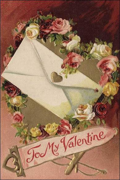 Que représente la lettre 'X' sur une lettre d'amour ?