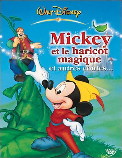 'Mickey et le haricot magique' est l'adaptation d'un roman populaire dont le jeune héros s'appelle en réalité ... .