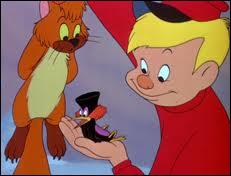 Quel est le prénom de ce jeune chasseur de loup dans un court métrage Disney sur une musique de Prokofiev ?