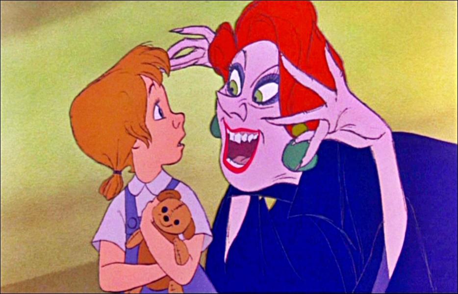 Comment s'appelle la jeune orpheline enlevée par l'horrible Madame Médusa ?