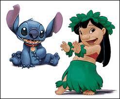 Comment s'appelle la petite orpheline hawaïenne qui se lie d'amitié avec un animal extraterrestre ?