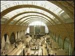 Avant, c'était une gare de Paris ; aujourd'hui, c'est un musée.