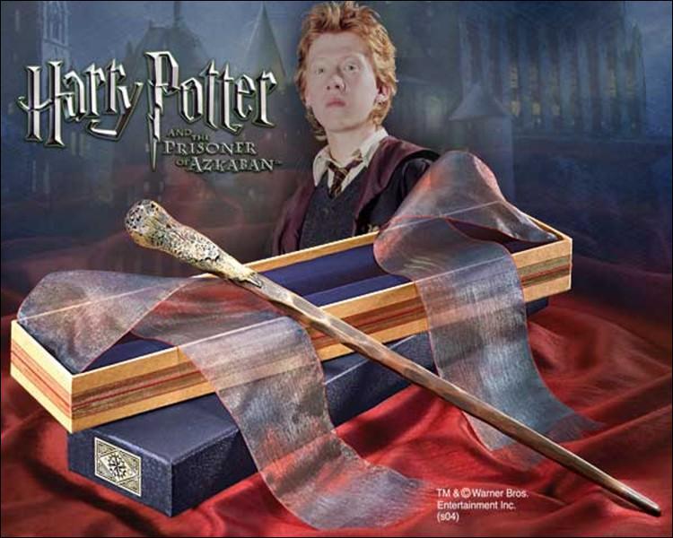 La baguette de Ron se casse dans Harry Potter 7, part 1
