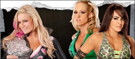 Natalya vs LayCool vs Eve (match modifié en Fatal 4-Way) : qui est la gagnante pour le championnat des Divas ?