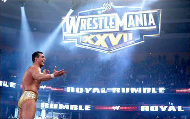 Qui est le vainqueur du Royal Rumble 2011 et aura un match de championnat à Wrestlemania 27 ?