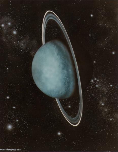 Pourquoi Uranus semble-t-elle bleue ?