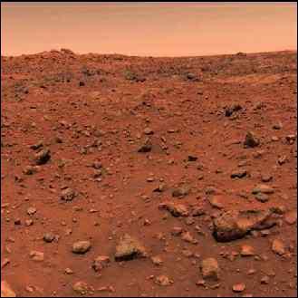 Quelle est la température moyenne à la surface de la planète Mars ?