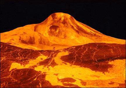 Où a été prise cette photo de volcan ?