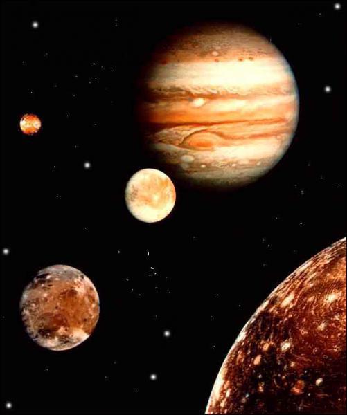 Laquelle de ces planètes ne possède aucun satellite connu ?