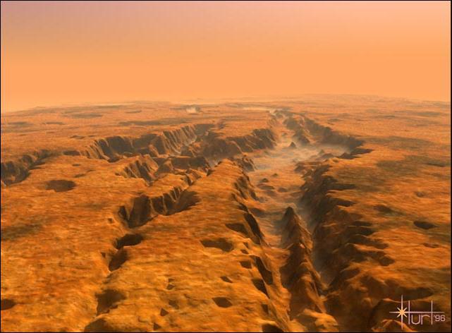 Quel est le plus grand canyon connu dans le système solaire ?
