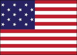 Combien y a-t-il de bandes horizontales rouges et blanches dans le drapeau actuel des Etats-Unis ?