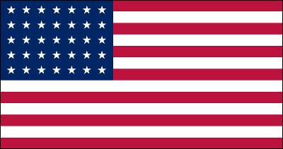 Combien y a-t-il d'étoiles sur le drapeau des Etats-Unis actuel ?