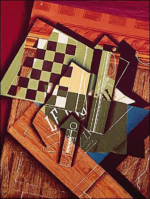 Qui a peint jeu d'échecs ?