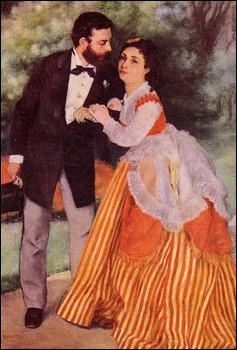 Qui a peint Les fiancés ?