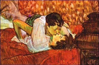 Qui a peint Le baiser ?