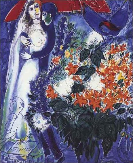 Qui a peint Les mariés sous le baldaquin ?