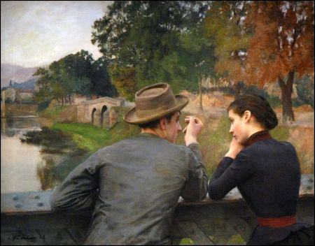 Qui a peint Les amoureux ?