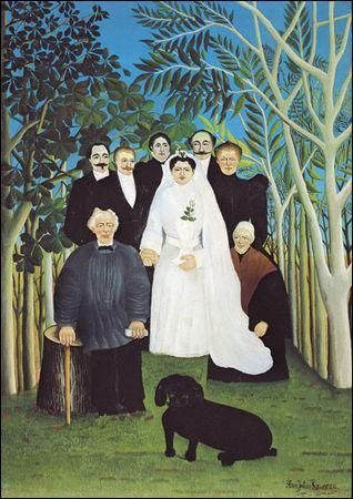 Qui a peint Le mariage ?