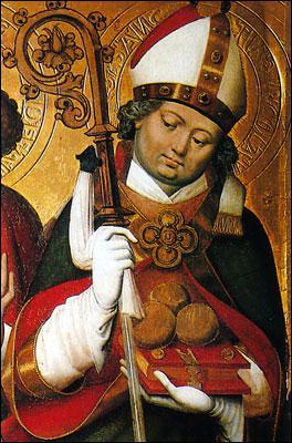 On le fête le 6 décembre. C'est un évêque protecteur des enfants, en somme l'ancêtre du Père Noël.