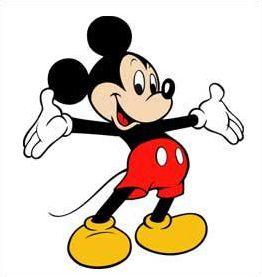 Les personnages de Mickey