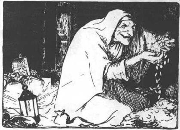 Vieilles femmes rabougries et malveillantes dont une apparaît dans 'Hansel et Gretel'...