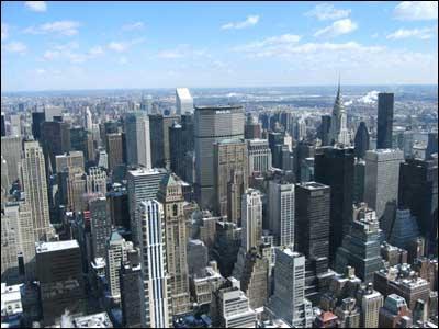 Quelle ville ne fait pas partie de la mégalopole américaine ?