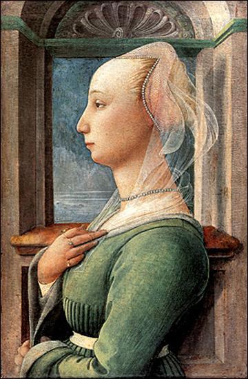 Qui a peint cette jeune femme de profil ?
