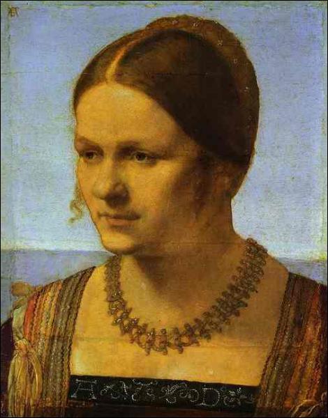 Qui a peint cette vénitienne ?