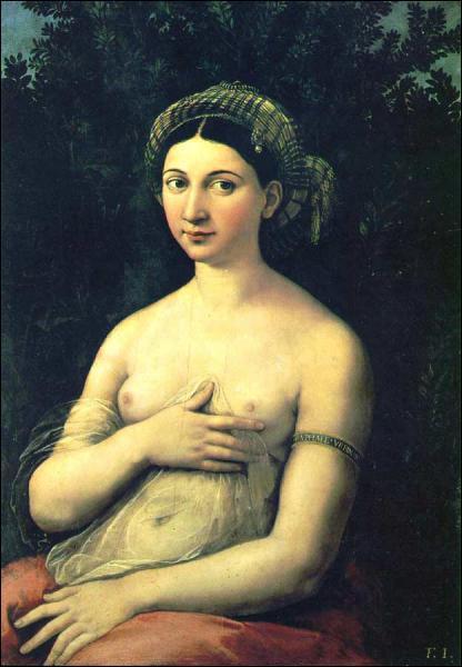Qui a peint la Fornarina ?