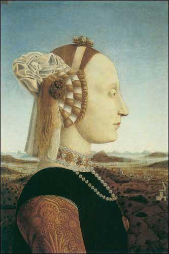 Qui a peint Battista Sforza ?