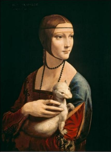 Qui a peint cette dame à l'hermine ?