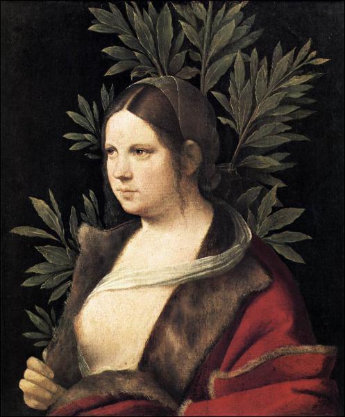 Qui a peint cette jeune femme ?