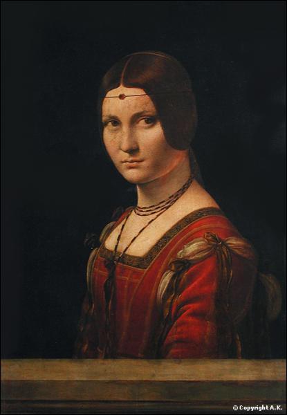 Qui a peint la Belle Ferronnière ?
