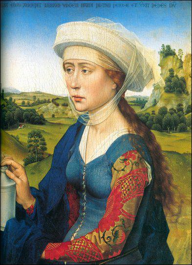 Qui a peint cette Sainte Marie-Madeleine ?