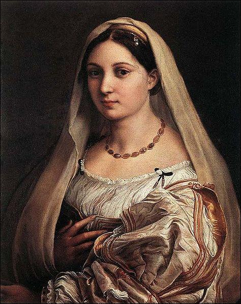 Qui a peint cette dame au voile ?