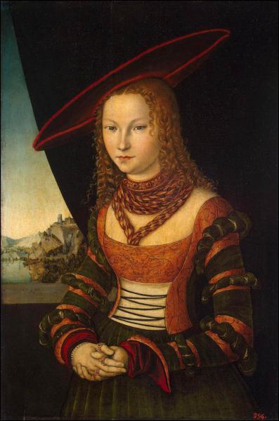 Qui a peint cette jeune femme à chapeau ?