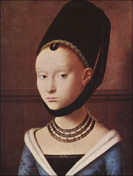 Qui a peint cette jeune femme étrange ?