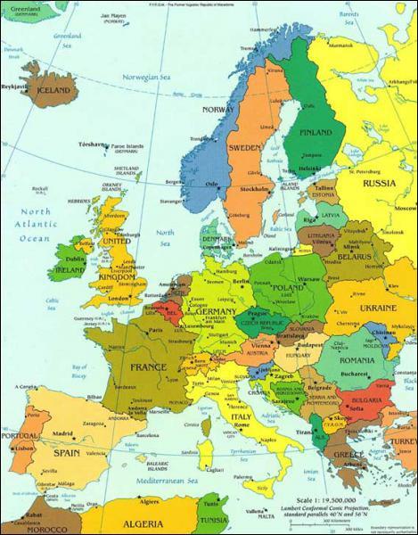 Washington est jumelée avec trois capitales européennes. Paris, Bruxelles et :