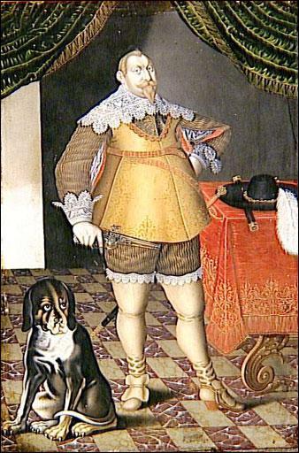 Quel roi suédois, victorieux pendant la guerre de Trente Ans, est représenté ici par un peintre du 19ème ?