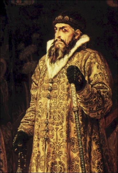 Quel souverain, premier tsar de Russie, est peint ici par Viktor Vasnetsov ?