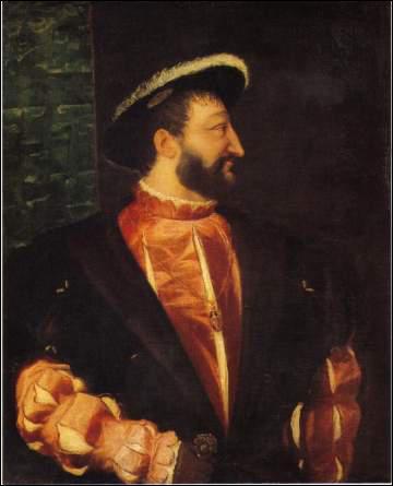 Quel souverain, grand rival du précédent, est peint lui aussi par Titien ?