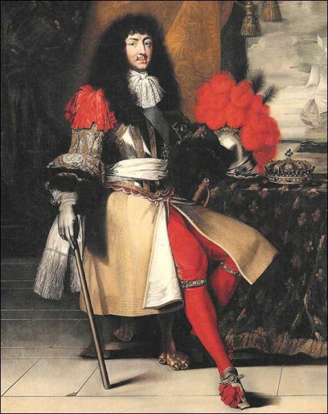 Quel roi, nommé Louis Dieudonné et amateur de ballets, est peint ici ?