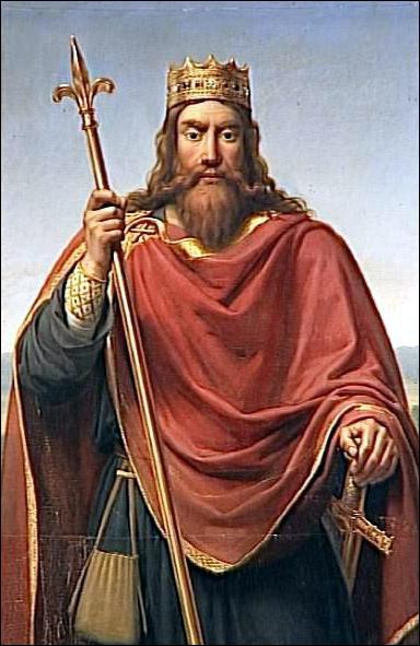 Quel souverain, converti au christianisme suite à une victoire militaire, est peint ici par François Dejuinne ?