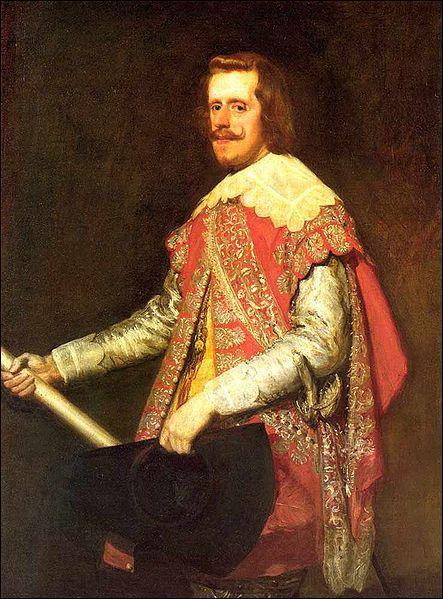 Quel roi d'Espagne, protecteur de Diego Velazquez, est peint ici par ce même artiste ?