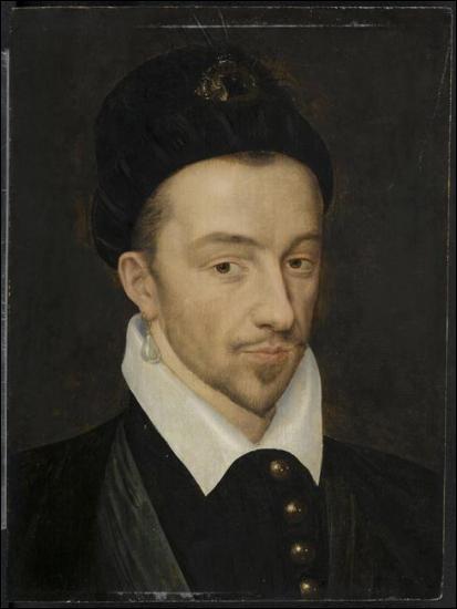 Quel roi Valois, assassiné en 1589, est peint ici par François Clouet ?