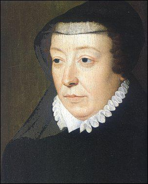 Quelle reine, régente et mère de 3 rois, est représentée ici par François Clouet ?