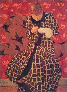 Qui a peint 'Femme cousant' ?