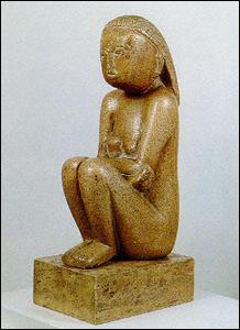 Réalisée en 1908, cette sculpture s'appelle...